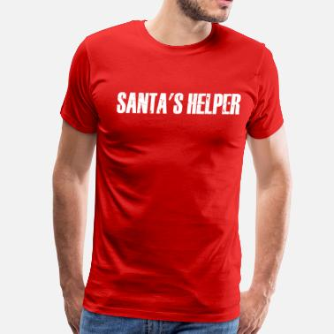 Santa Helper Santa's Helper - Men's Premium T-Shirt