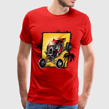 Red Downhill Dune Buggy - Men's Premium T-Shirt