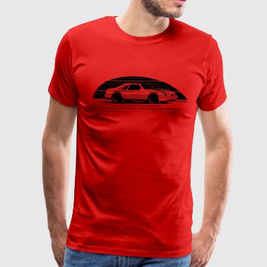 MUSTANG FOX BODY - Men's Premium T-Shirt
