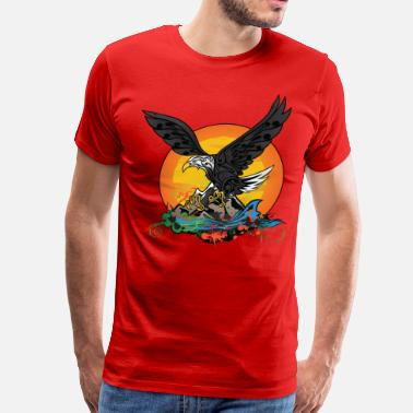Wild-eagle Wild Eagle - Men's Premium T-Shirt