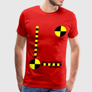 Crash Test Dummy Design - Men's Premium T-Shirt