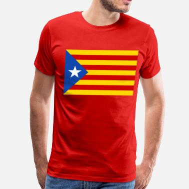 Flag Of Catalunya flag of catalunya - Men's Premium T-Shirt
