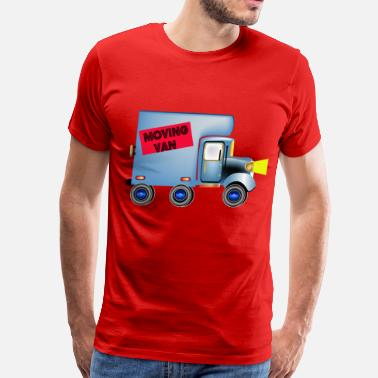 Moving Moving Van - Men's Premium T-Shirt