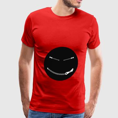Bondage Humor Bondage Smiley - Men's Premium T-Shirt