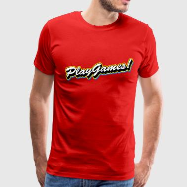 Play Games - Men's Premium T-Shirt