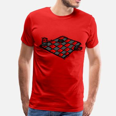 Checkers checkers - Men's Premium T-Shirt