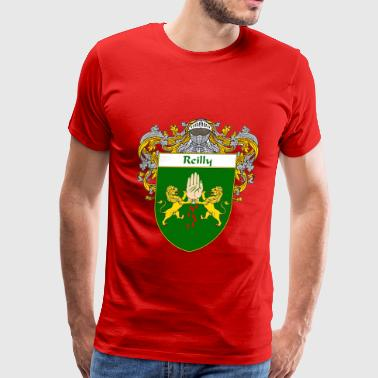 reilly_coat_of_arms_mantled - Men's Premium T-Shirt