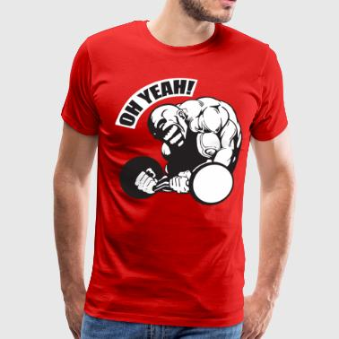 OH YEAH! - Bodybuilding Motivation - Men's Premium T-Shirt