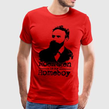 Roentgen Is My Homeboy - Men's Premium T-Shirt
