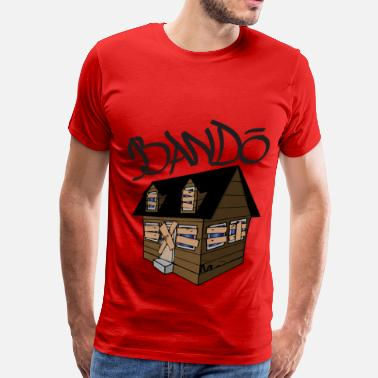 Bando trap-house-colored-in - Men's Premium T-Shirt