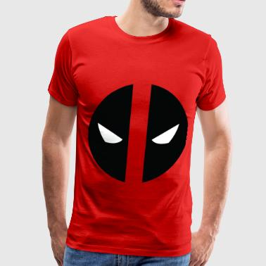 Deadpool Eyes.png - Men's Premium T-Shirt