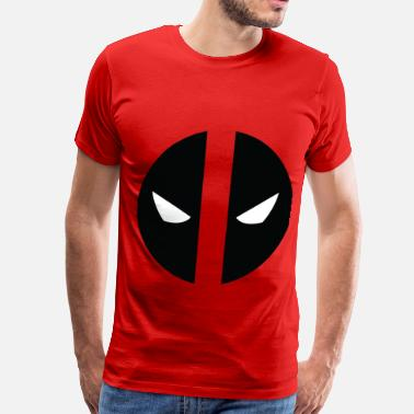 Belt Buckle Deadpool Eyes.png - Men's Premium T-Shirt