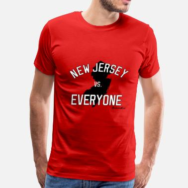 New Jersey New Jersey vs Everyone - Men's Premium T-Shirt