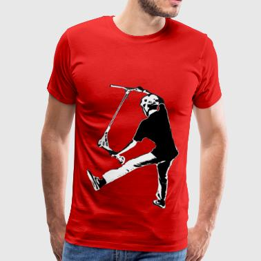 High Flying Scooter Boy  - Stunt Scooter - Men's Premium T-Shirt