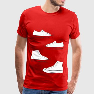 Canvas Shoes - Men's Premium T-Shirt