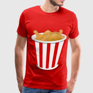 Fried Chicken - Men's Premium T-Shirt