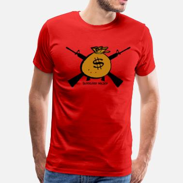Red Trill Million Dollar Policy Red - Men's Premium T-Shirt