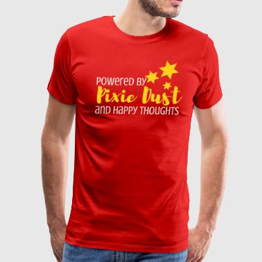 Tinkerbell Powered By Pixie Dust and Happy Thoughts - Men's Premium T-Shirt