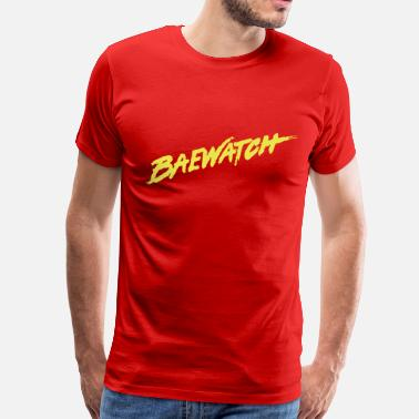 Baywatch Baewatch - Men's Premium T-Shirt