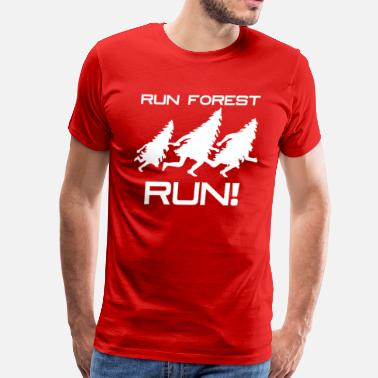 Run Forest Run Run Forest Run - Men's Premium T-Shirt