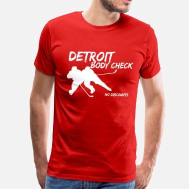 Nhl Detroit Body Check - Men s Premium T-Shirt 090c89ee9