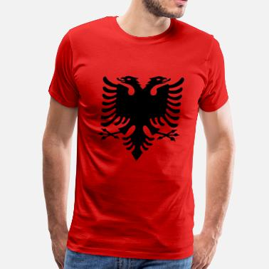 Albania Flag flag of albania - Men's Premium T-Shirt