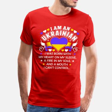 I Am Ukrainian I Am An Ukrainian - Men's Premium T-Shirt