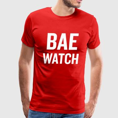 Bae Watch White - Men's Premium T-Shirt