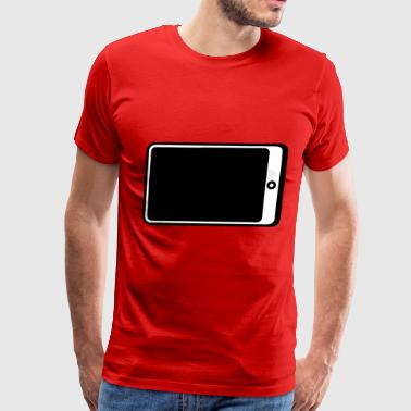 Smartphone Filled - Men's Premium T-Shirt