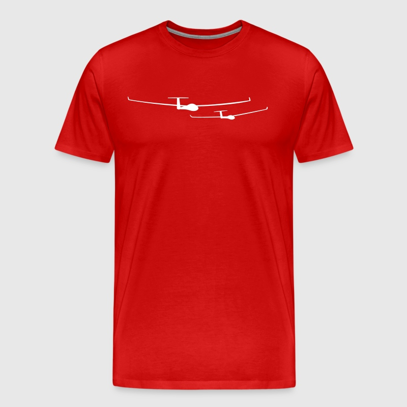 soaring team pilot - Men's Premium T-Shirt