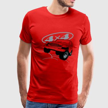 Jeep 4x4 - Men's Premium T-Shirt