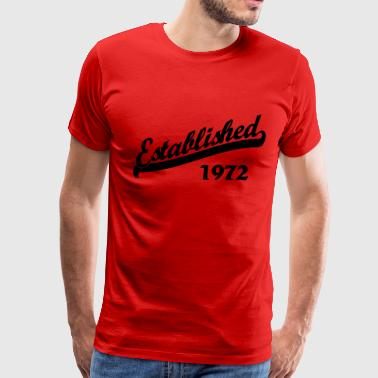 Established 1972 - Men's Premium T-Shirt