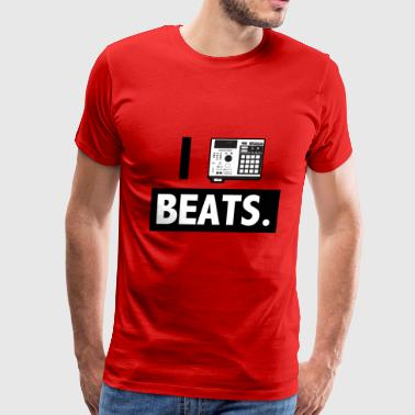 I_mpc_beats_blackwhite - Men's Premium T-Shirt