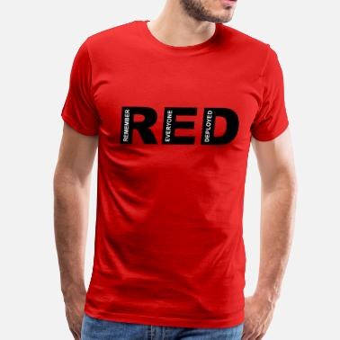 R.E.D Friday Remember - Men's Premium T-Shirt