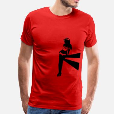 Cowgirl Sex sexy cowgirl - Men's Premium T-Shirt