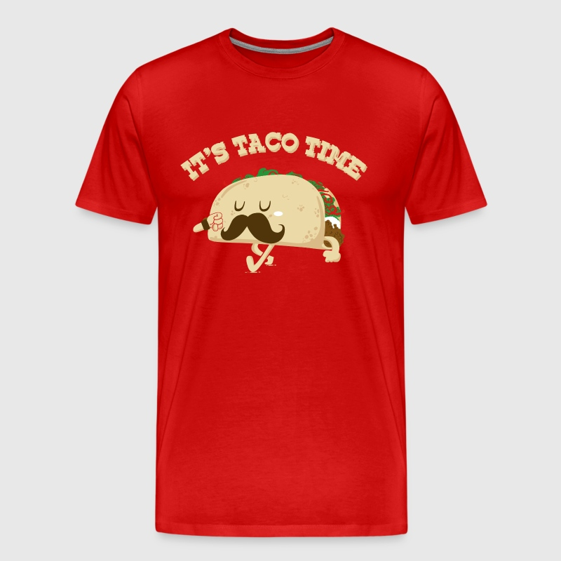 TACO TIME - Men's Premium T-Shirt