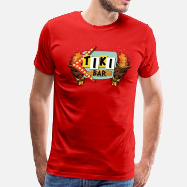 Tiki Bar Tiki Bar - Men's Premium T-Shirt