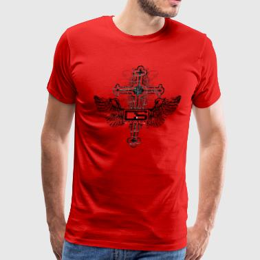 Cho-Son Cross - Men's Premium T-Shirt