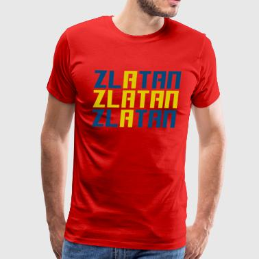Zlatan - Men's Premium T-Shirt