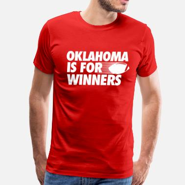 Ou Football Oklahoma - Men's Premium T-Shirt