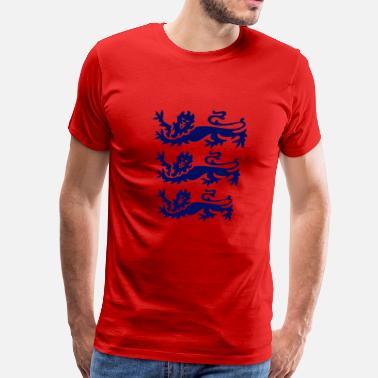 Three Lions three lions blue - Men's Premium T-Shirt