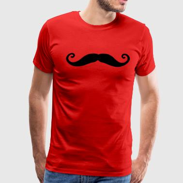 Mustache For Kids mustache - Men's Premium T-Shirt