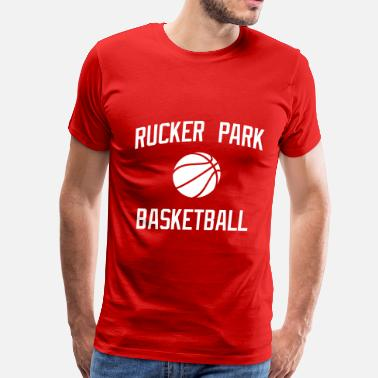Streetball Rucker Park Basketball - Men's Premium T-Shirt