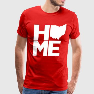 Home Ohio - Men's Premium T-Shirt