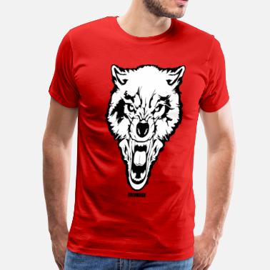 Wolf Brand WOLF OF THE STREET - Men's Premium T-Shirt