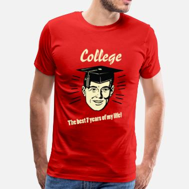 Graduation College - Men's Premium T-Shirt