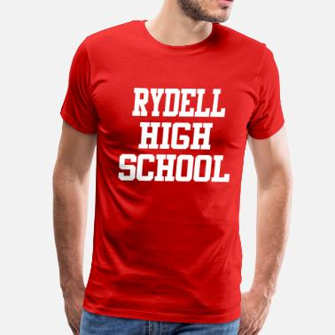 Rydell High School Rydell High School - Grease - Men's Premium T-Shirt