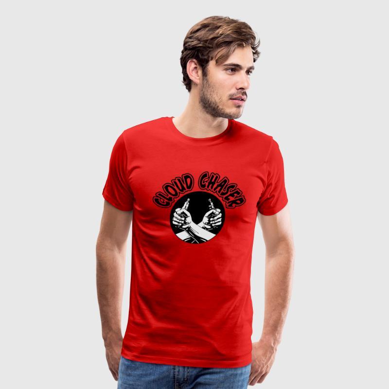 Cloud chaser vaping t shirt spreadshirt cloud chaser vaping mens premium t shirt sciox Gallery
