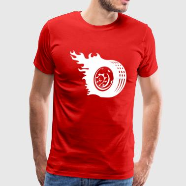 Tire Car Wheel1 - Men's Premium T-Shirt