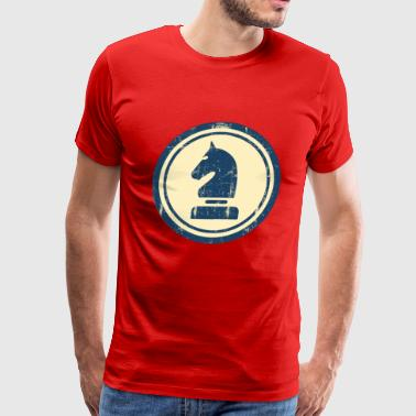 Horse Knight Chess Piece - Men's Premium T-Shirt